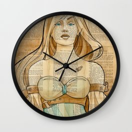 The Iron Woman 8 Wall Clock