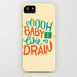 Shimmy Shimmy iPhone Case