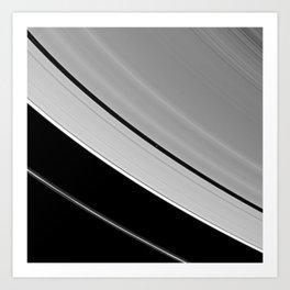 Sturn visible light at 7 miles per pixel Art Print