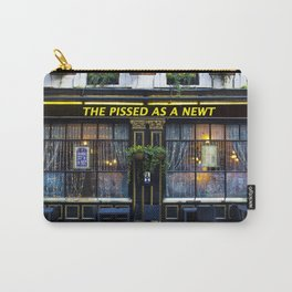 The Pissed as a Newt Pub Carry-All Pouch