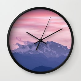 Monte Rosa Wall Clock