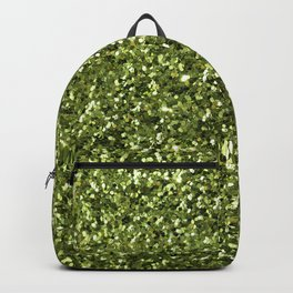 Green Sparkles Backpack