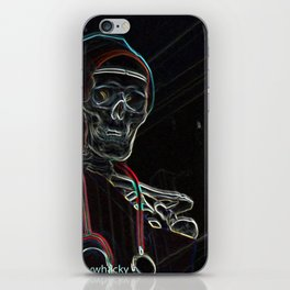 Neon Dr . iPhone Skin
