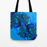 illusion Tote Bags featuring Illusion by Christy Leigh