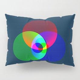 Red Green Blue Light Color Model Lines Pillow Sham