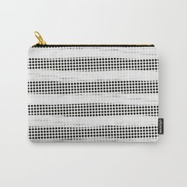 Black Diamonds Gross Stripes /Strokes/Lines Carry-All Pouch