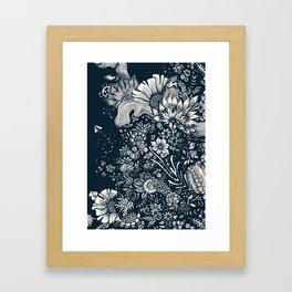 midnight blues Framed Art Print