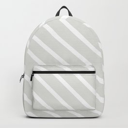 Ice Diagonal Stripes Backpack