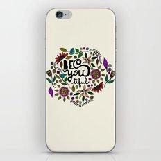 Be You-Tiful iPhone & iPod Skin