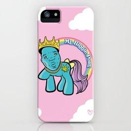 My Biggie Pony iPhone Case