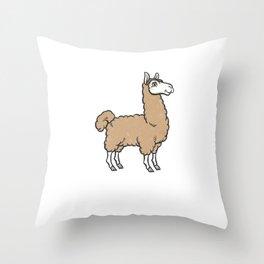 Breckinridge Alpaca Bag Vacation Travel Design Throw Pillow