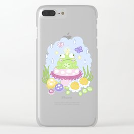 The Majestic Magical Horn Toad Clear iPhone Case