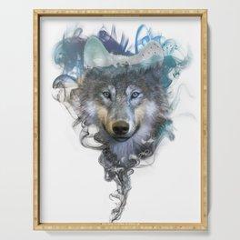 Wolf - Spirit Animal Serving Tray