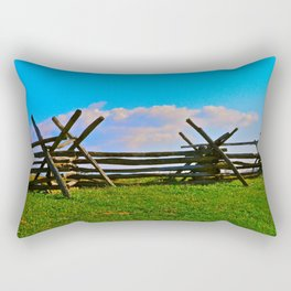 Fence @ Antietam Rectangular Pillow