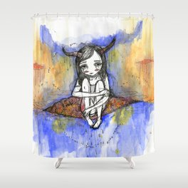 balance / after the storm Shower Curtain