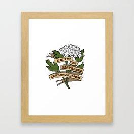 Handmaid's Tale - NOLITE TE BASTARDES CARBORUNDORUM (color) Framed Art Print
