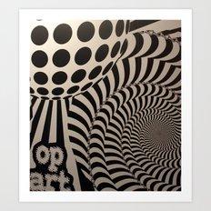 Optical Illusion for IPhone  Art Print
