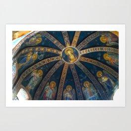 Chora Church Fresco Art Print