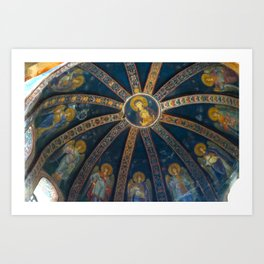 Chora Church Fresco Art Print