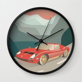Classic Car Wall Clock