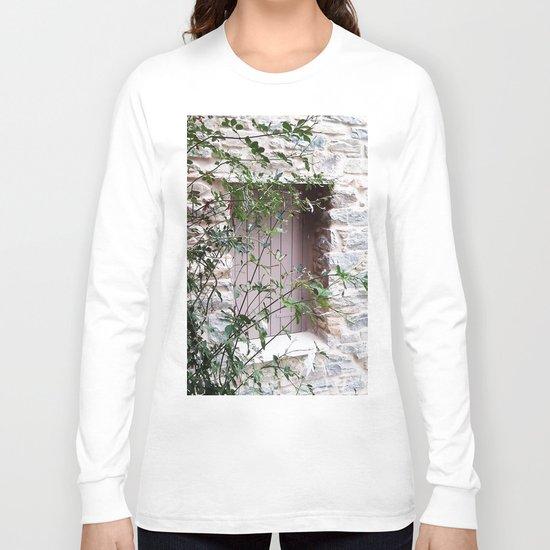 Window in Tinos Long Sleeve T-shirt