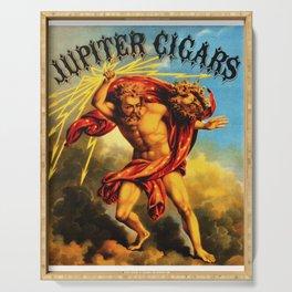 Vintage Jupiter Cigars Ad Serving Tray