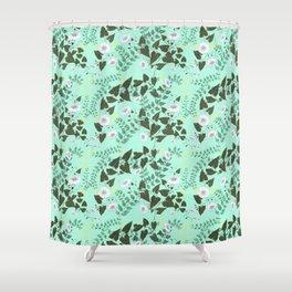 Honeysuckle & Bindweed Shower Curtain