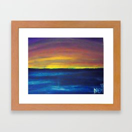 Beutiful Ocean Framed Art Print
