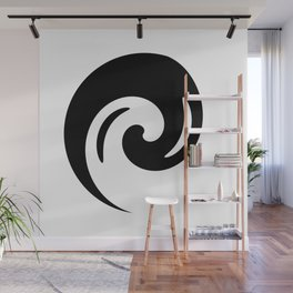 Yin Yang Exagerated Wall Mural