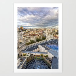 Madrid Art Print