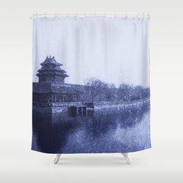 Forbidden City Shower Curtain