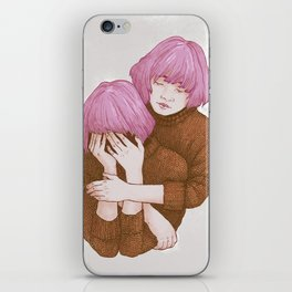 Be nice to yourself iPhone Skin