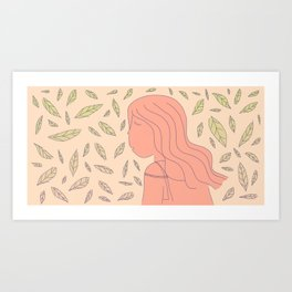Sweet Days Art Print