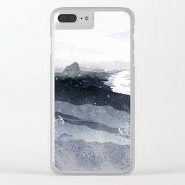 celestin point Clear iPhone Case