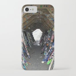 Hideout gathering of skis iPhone Case