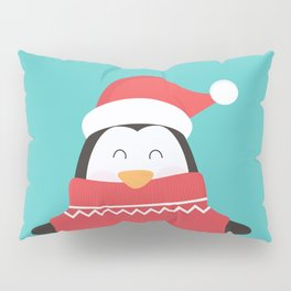 Little Penguin in Ugly Christmas Sweaters Pillow Sham