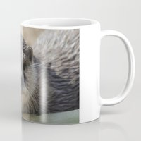 otter Mugs featuring Otter by PICSL8