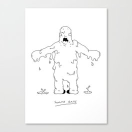 Swamp Rats Canvas Print