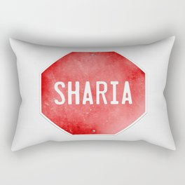 Stop Sharia Rectangular Pillow