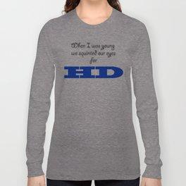 HD Quality Long Sleeve T-shirt