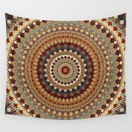 Earthy Mandala Wall Tapestry