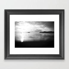 Ponga Framed Art Print