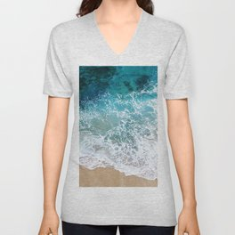 Ocean Waves I Unisex V-Neck