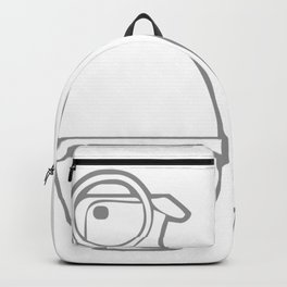 Dove v's Grenade Banksy Art Backpack
