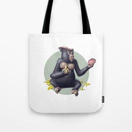 Gorilla thinks Tote Bag