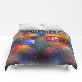 Christmas background Comforters