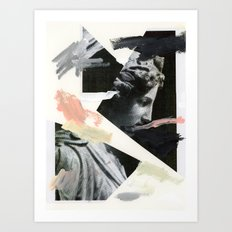 Untitled (Painted Composition 3) Art Print