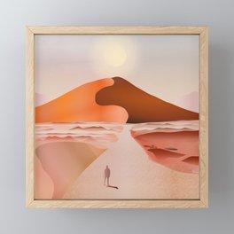 Dunes Framed Mini Art Print