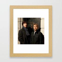 Johnlock Framed Art Print