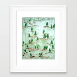 We All Find Our Place Along the Path  Framed Art Print